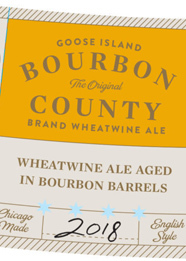 Goose Islanfd Bourbon County Wheat Wine